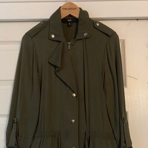 Mossimo Lightweight Olive Green Jacket